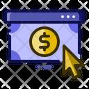 Pay Pay Per Click Click Icon