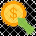 Pay Per Click Ppc Cost Per Click Icon