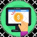 Ppc Cpc Pay Per Click Icon