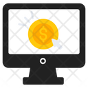 Pay Per Click Cost Per Click Paid Amount Icon