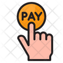 Pay Per Click Click Pay Pay Icon