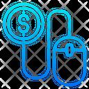 Pay Per Click Online Pyament Ppc Icon