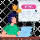 Pay Per Click Ppc Cpc Icon