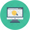 Online Business Work Icon