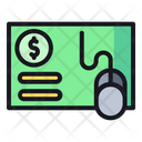 Pay Per Clink Ppc Business Icon
