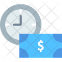 Cashv Pay Per Hour Payment Icon
