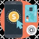 Pay Per Mobile Icon