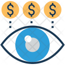 Pay View Dollar Icon