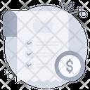 Pay Receipt Icon