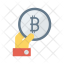 Pay via bitcoin Icon