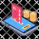 Pay Via Card Icon