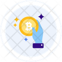 Pay With Bitcoin Pay Payment Icon