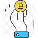 Pay With Bitcoin Bitcoin Business Icon