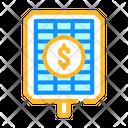 Payback Price Solar Icon