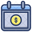 Payday Payment Plan Payment Schedule Icon