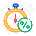 Time Is Interest Icon