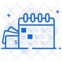 Payday Loan Payday Advance Monthly Payment Icon