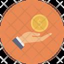 Paying Dollar Cash Icon