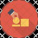 Paying Dollar Saving Icon