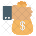 Paying Give Money Donation Icon