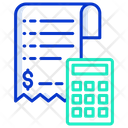 Paying Bills Concept Icon
