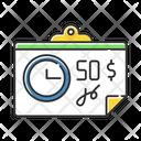 Check Receipt Time Icon