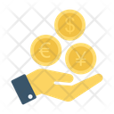 Paying Money Currency Icon