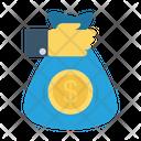 Paying Bag Dollar Icon