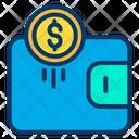 Wallet Dollar Wallet Dollar Cash Icon