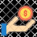 Cash In Hand Finance Cash Icon