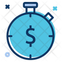 Payment Stopwatch Timer Icon