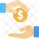 Give Payment Money Giving Icon