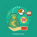 Payment Euro Saving Icon