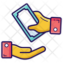 Payment Cash In Hand Cash Payment Icon
