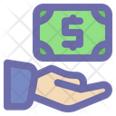 Donation Support Money Icon