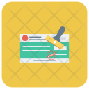 Payment Banking Seal Icon
