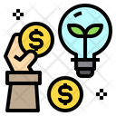 Payment Idea Bulb Icon