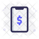 Mobile Payment Money Icon