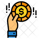 Money Payment Hand Icon