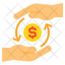 Payment Money Hands Icon