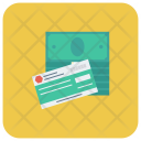 Payment Cheque Cash Icon