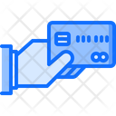 Hand Credit Card Icon