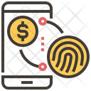 Payment Finger Print Icon