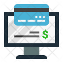 Payment Online Bill Icon