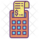 Payment Bill Invoice Machine Bill Machine Icon
