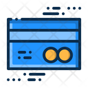Business Bank Card Icon