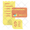 Payment Card Bill Icon