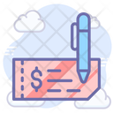 Payment Cheque Icon