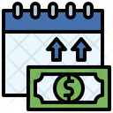 Payment Day Calendar Money Icon
