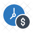 Time Schedule Dollar Icon